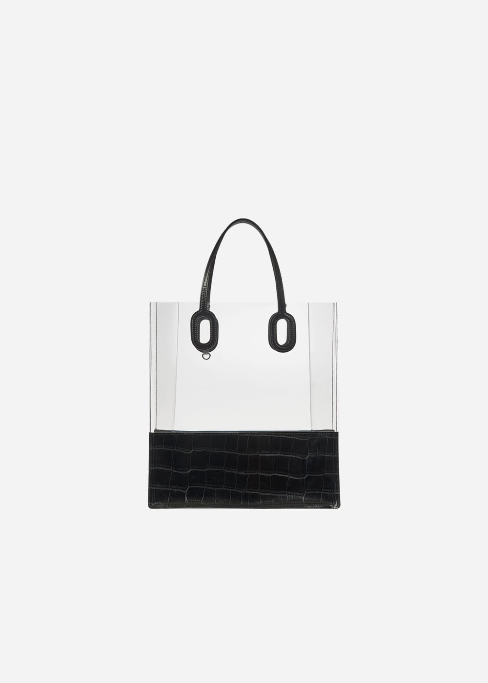 O Handle Tote Jelly Black